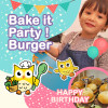 2-6YO Bake it Party-Burger