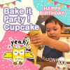 2-6YO Bake it Party-Cupcake