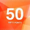 50 POINTS + 2P FREE
